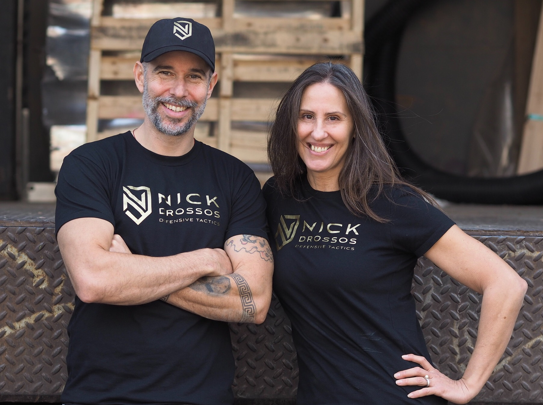 Meet Your Trainers Nick Drossos and Helen Stranzl with over 20 experience in the field of Self Defense