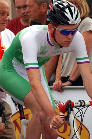 Aaron Buggle - Two time national time-trial champion and former professional with the UK-based Rapha Condor JLT