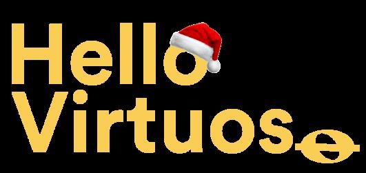 Logo jaune Hello Virtuoso