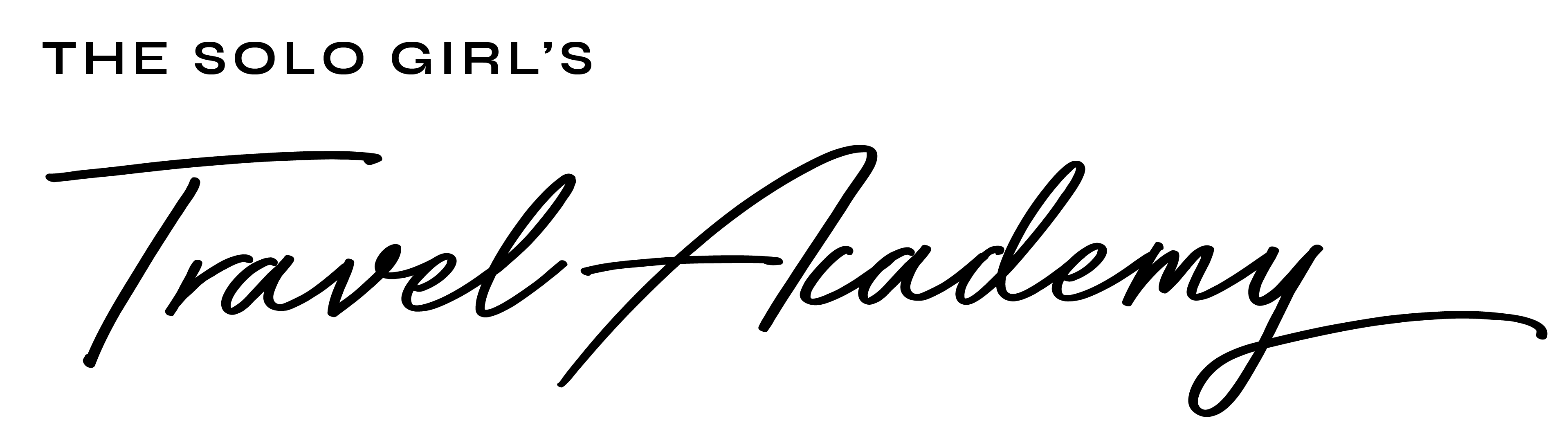 The Solo Girl's Travel Academy Logo