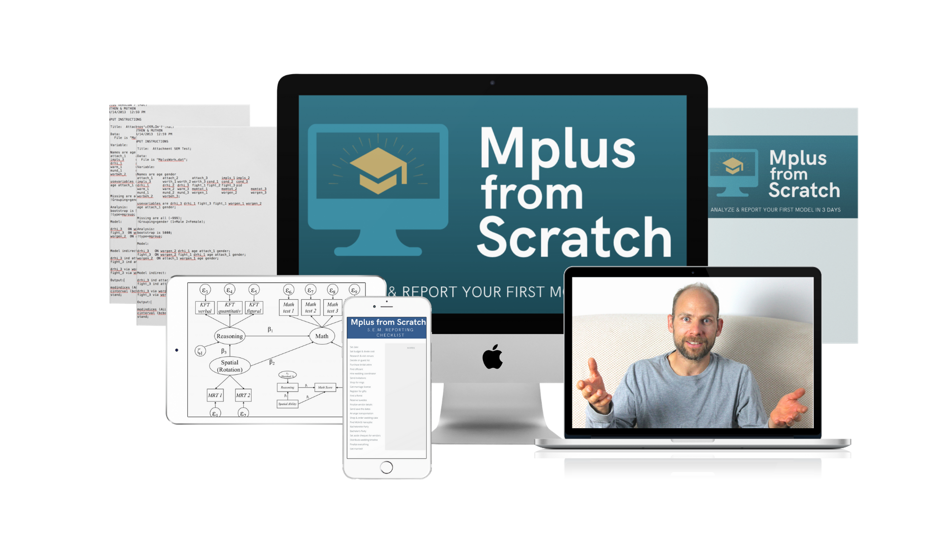 Photo of Mplus from Scratch on different devices