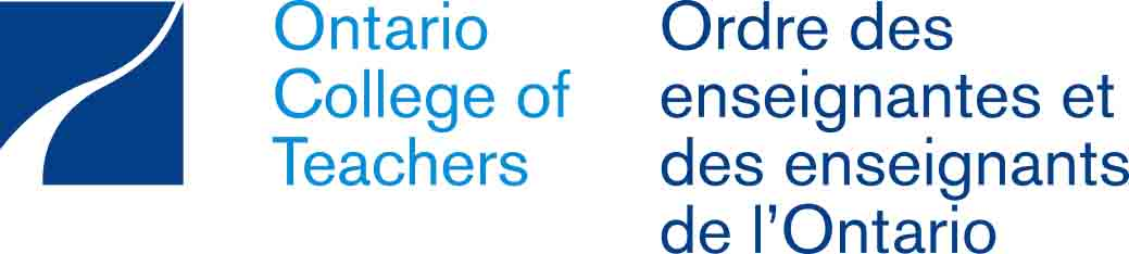 Logo for Ontario College of Teachers.