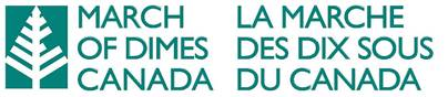Logo for March of Dimes Canada.