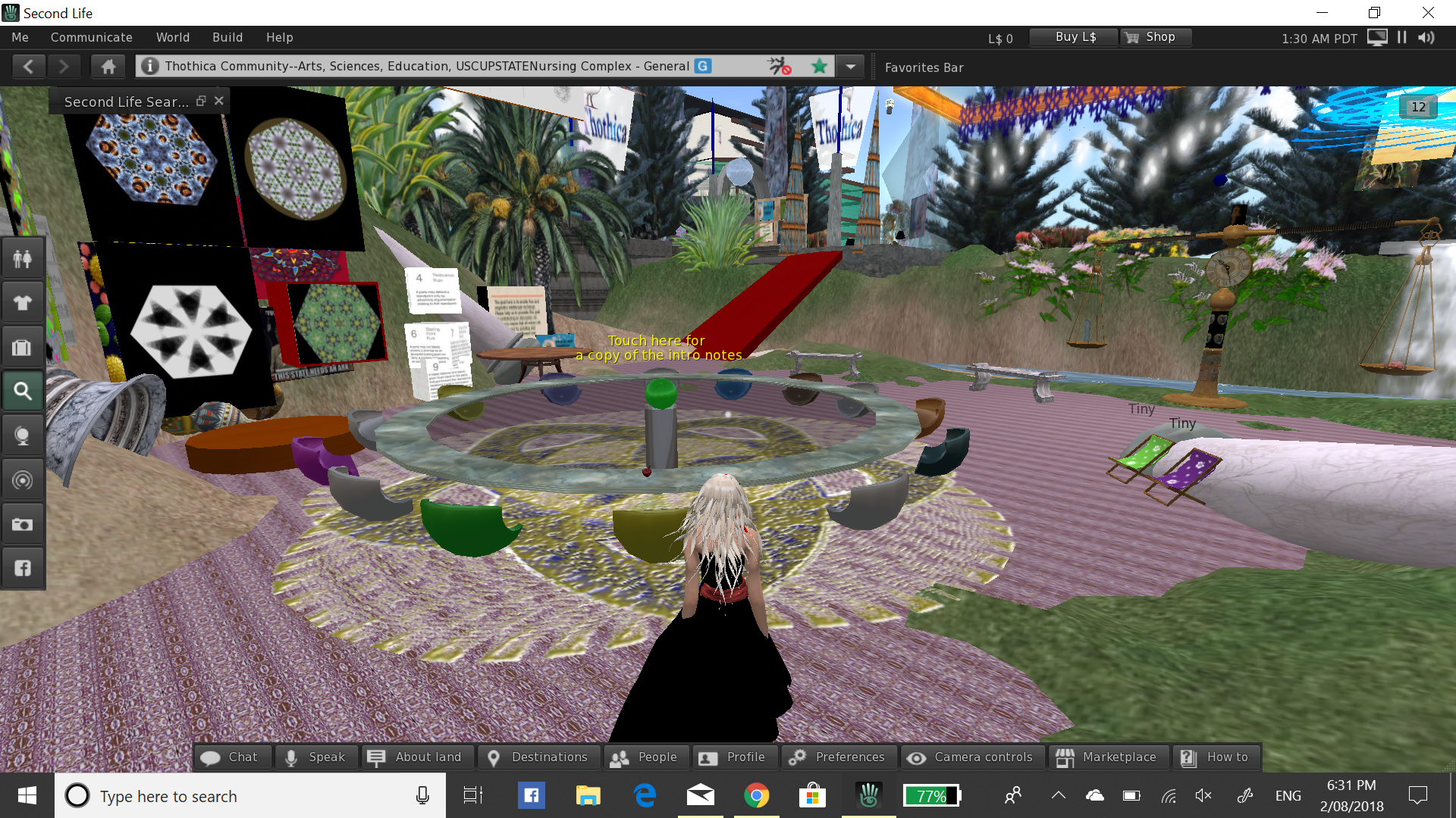Interested in participating in a free class held in a Virtual Environment?
