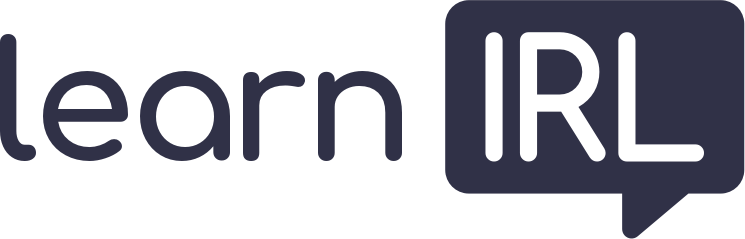 learn IRL logo