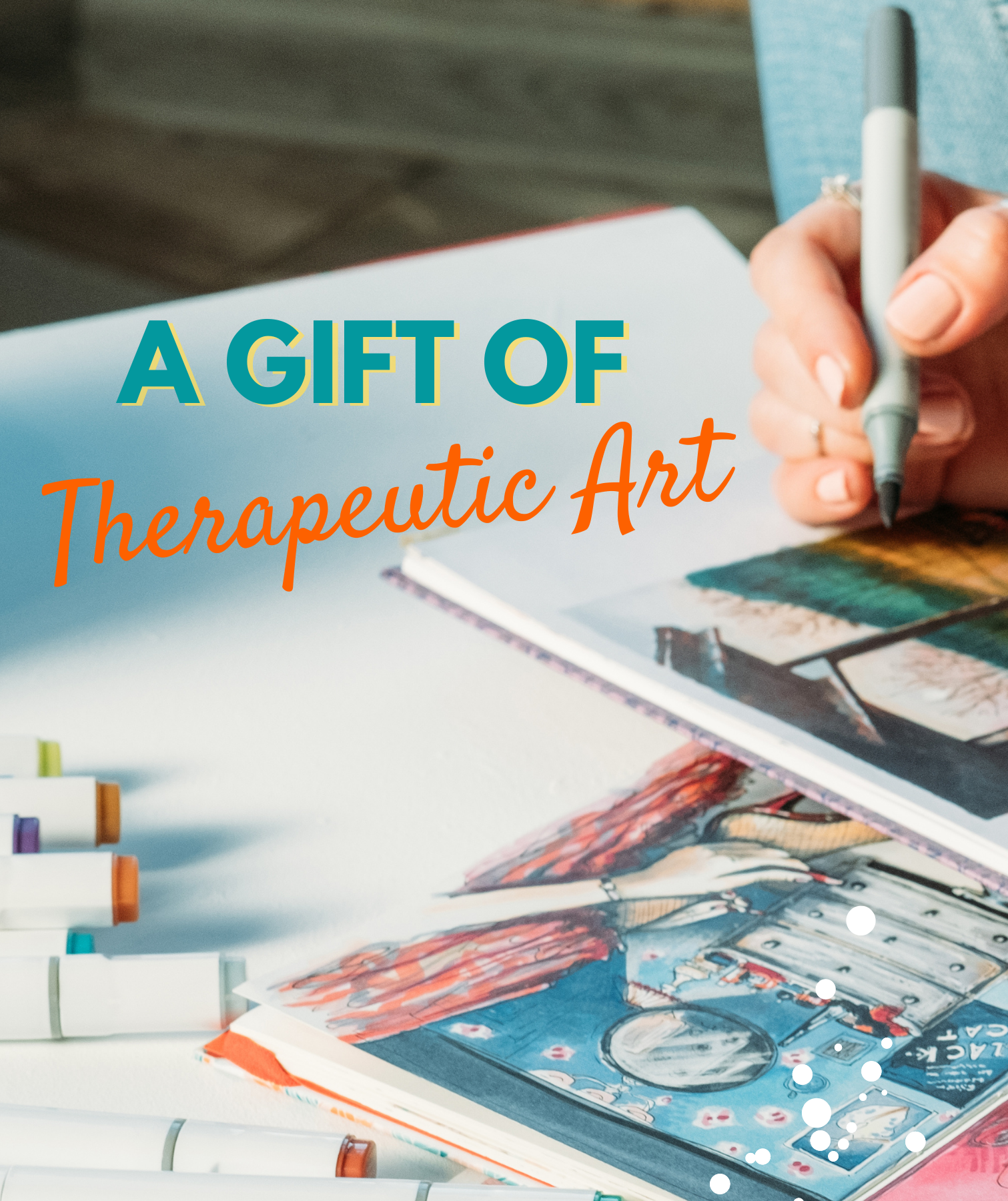 Give the Gift -  Self-Healing Art Therapy Kit