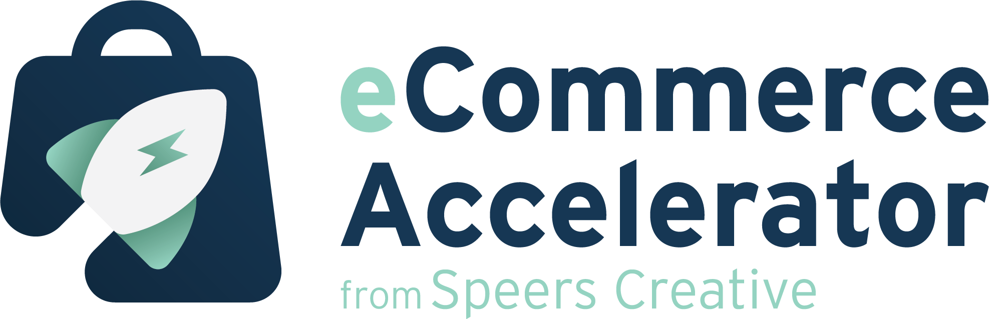 eCommerce Accelerator Logo - Speers Creative