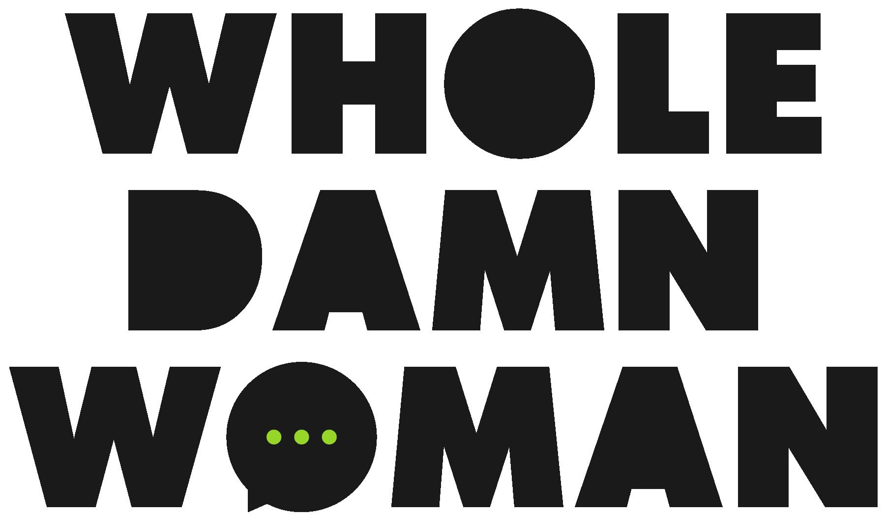 Whole Damn Woman logo