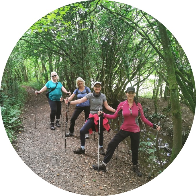 The Queen's of Nordic Walking