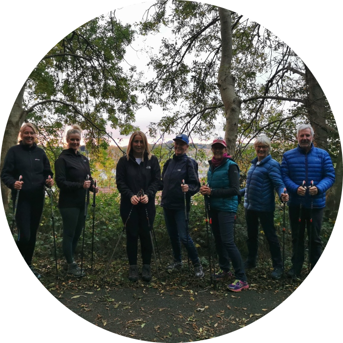 Autumn is here! Nordic Walking fun