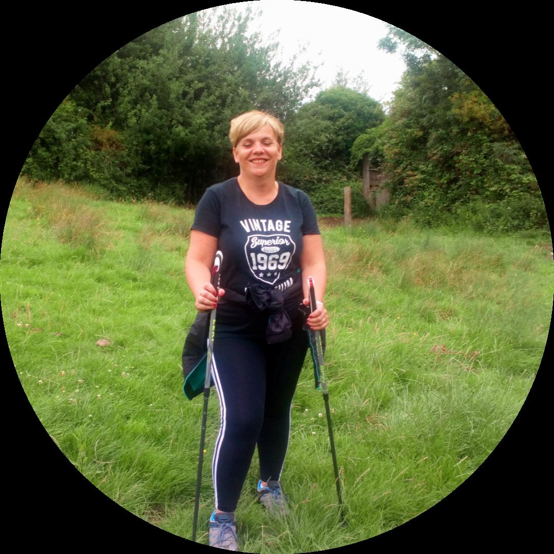 Lovely Jo looking energised post walk!