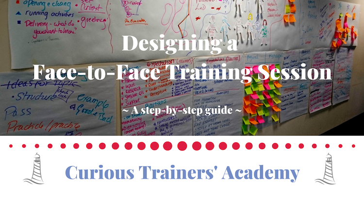 Designing a Face-to-Face Training Session