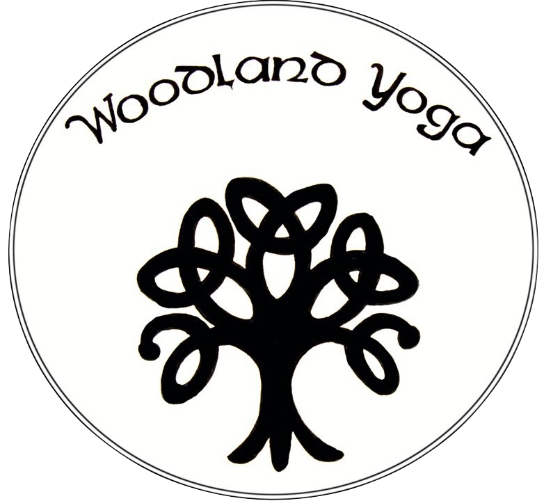 Celtic Tree with Woodland Yoga Text