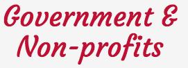 Government and Non-Profits