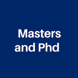Masters and Ph.d Degrees for International Students