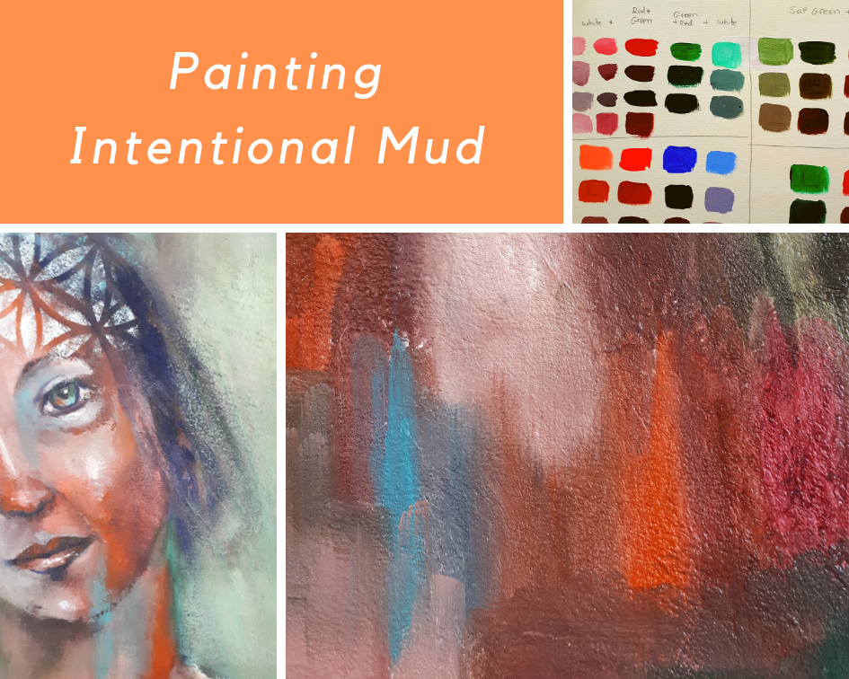 Intentional Mud Painting