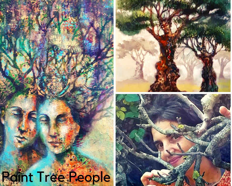 Paint Tree People
