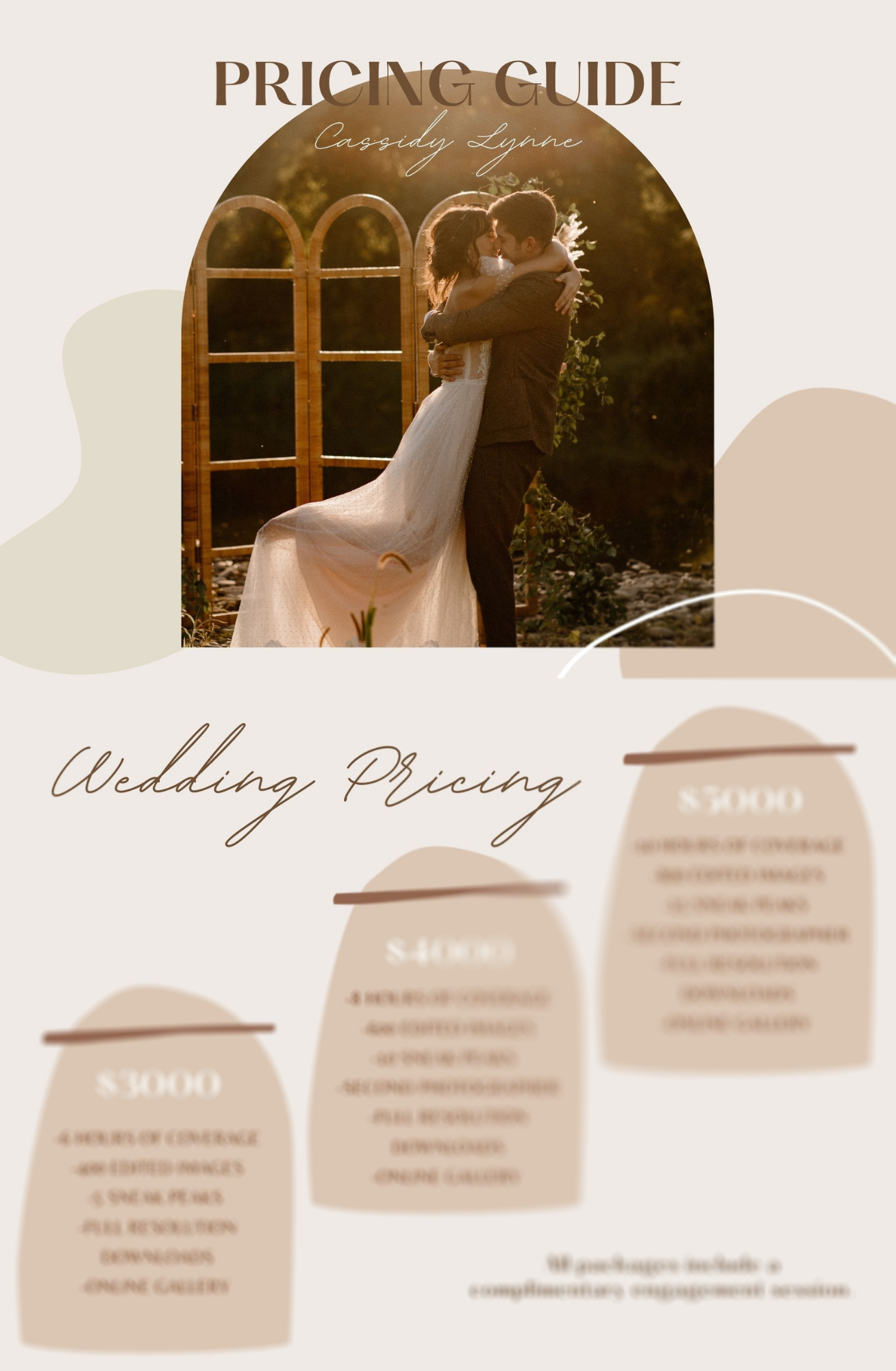 Pricing Guide Template for Photographers