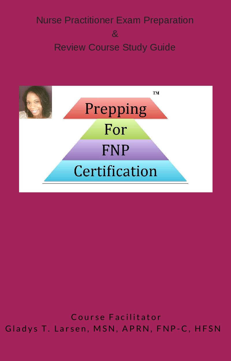 Prepping For Fnp Certification Ltd