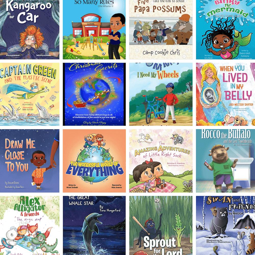 Books I've Helped Authors Create