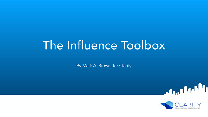 The Influence Toolbox