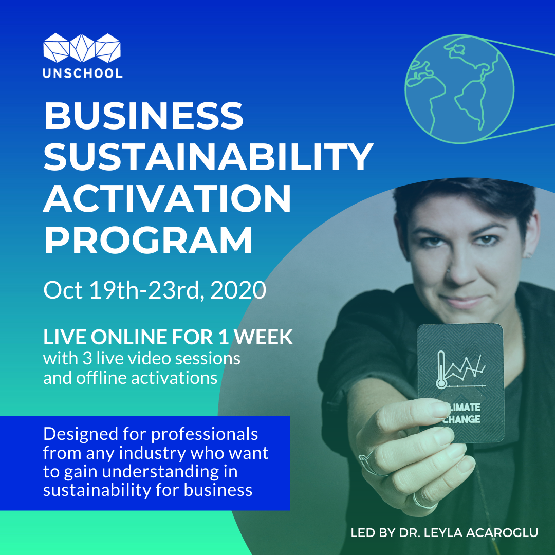 ACTIVATE SUSTAINABILITY IN YOUR BUSINESS