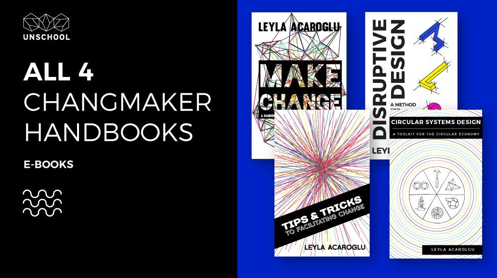 GET ALL 4 OF THE CHANGE MAKER HANDBOOKS