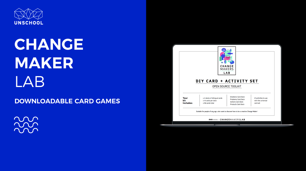 Creative Change Maker Card Game & Activity Pack
