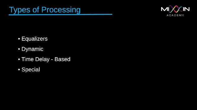 LEVEL 1 - Types of Processing
