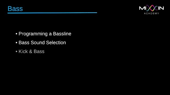 LEVEL 3 - Bass