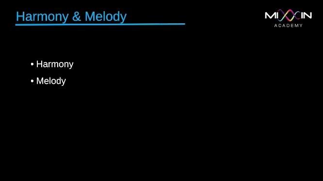 LEVEL 4 - Harmony & Melody