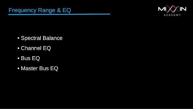 LEVEL 3 - Frequency range & EQ