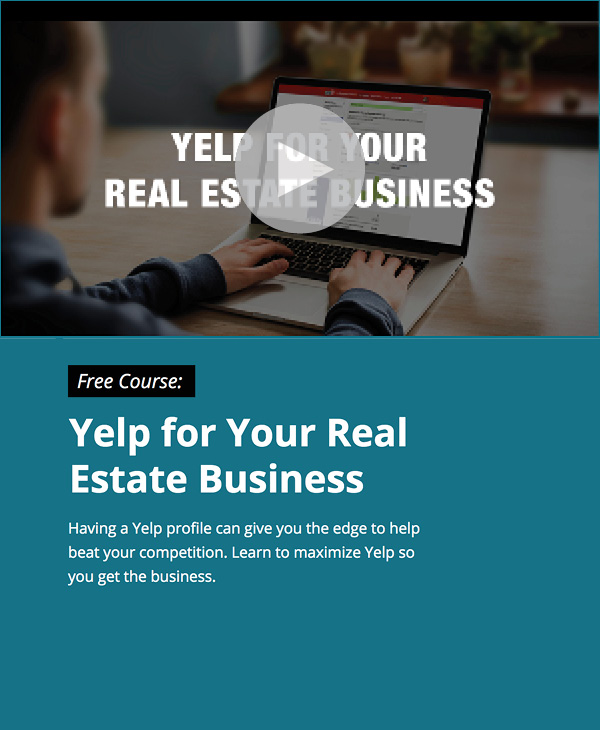 View our free Yelp course and get ahead of the competition.