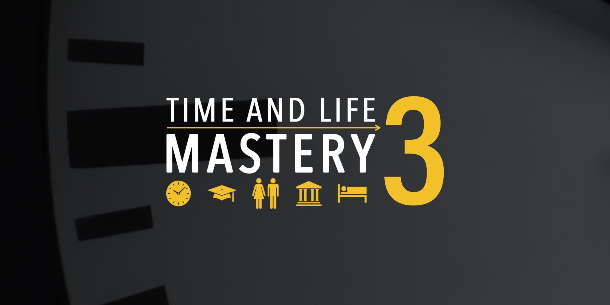 The 2019 Time And Life Mastery Course Is Here