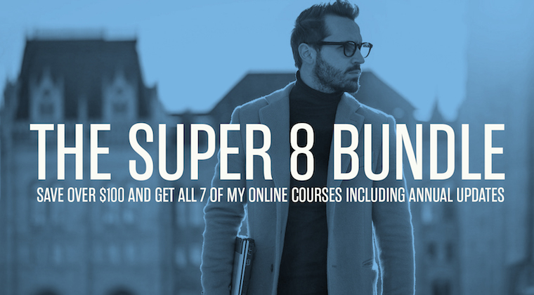 Buy all my courses and get a huge discount!