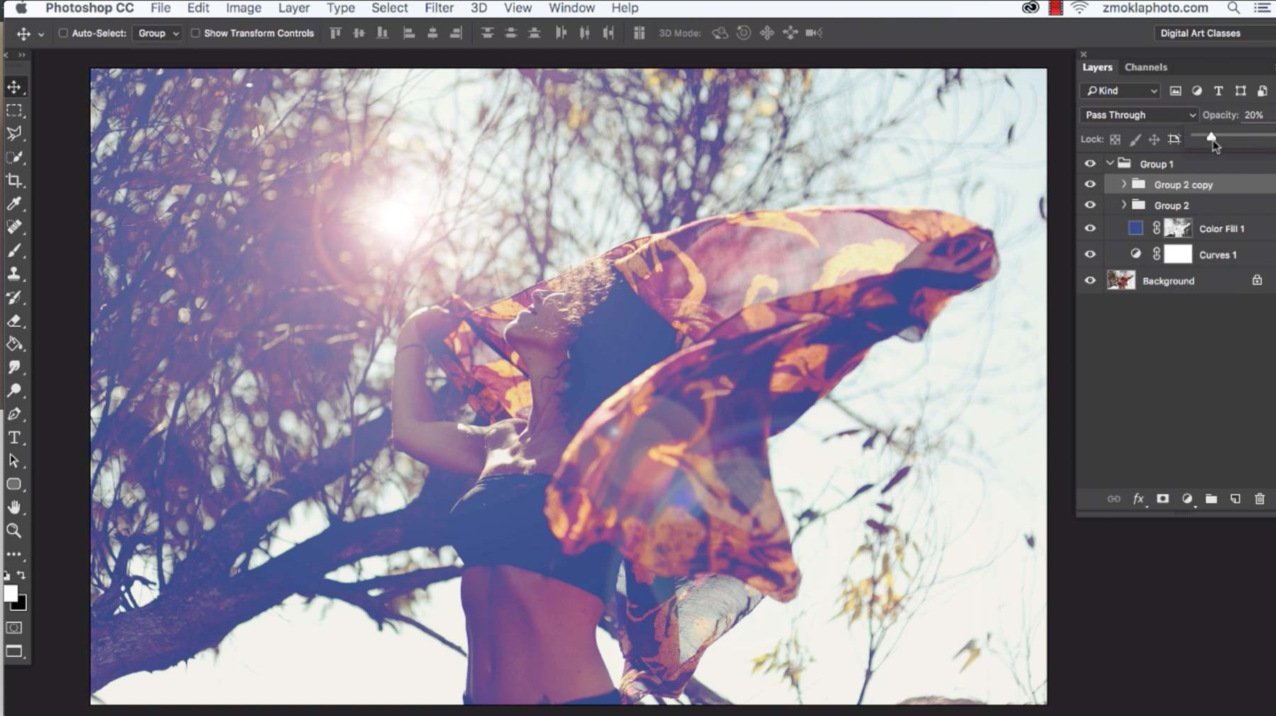 Style Your Images With Lens Flare Filter