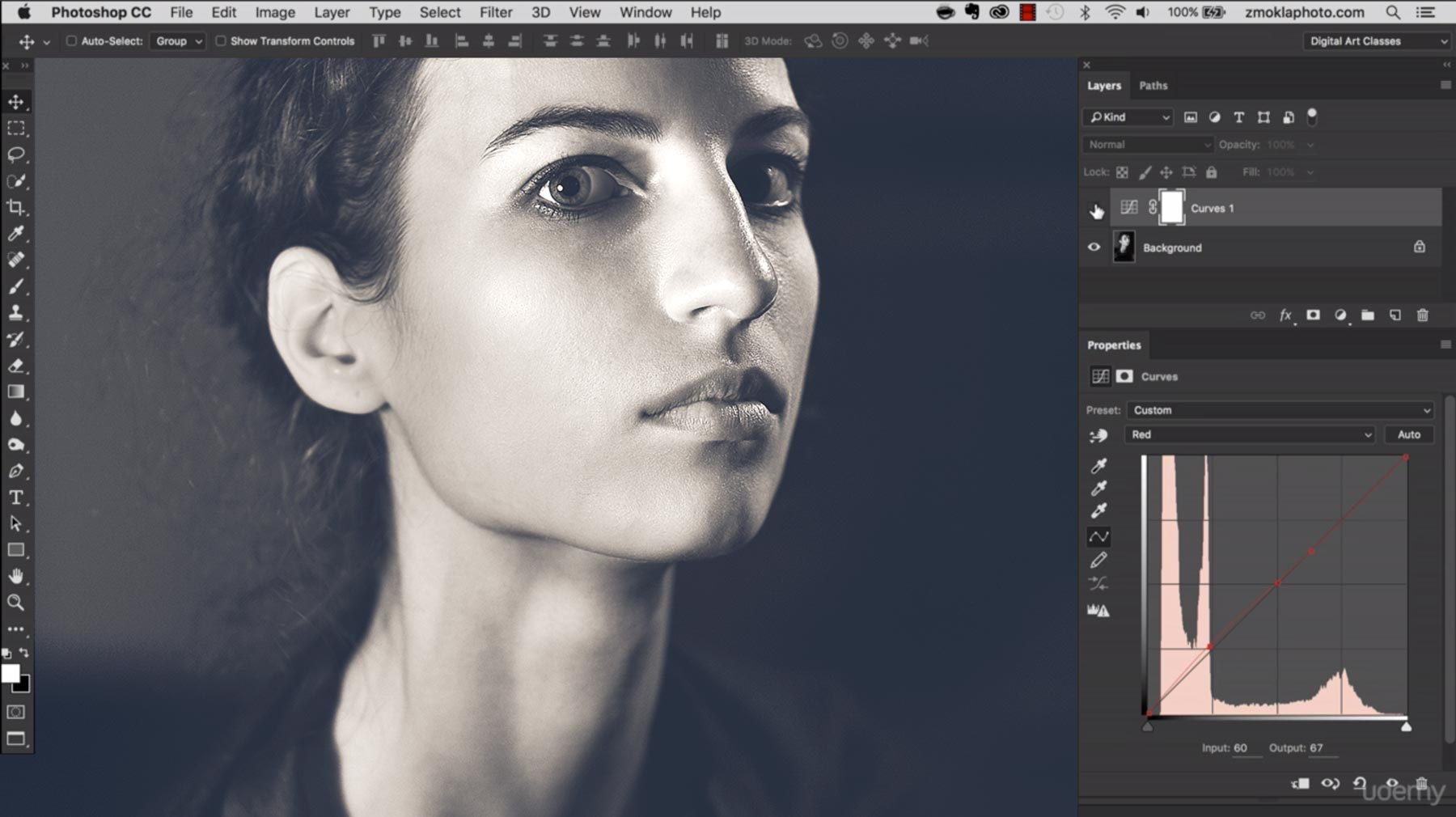 Powerful Toning With The Curves Tool