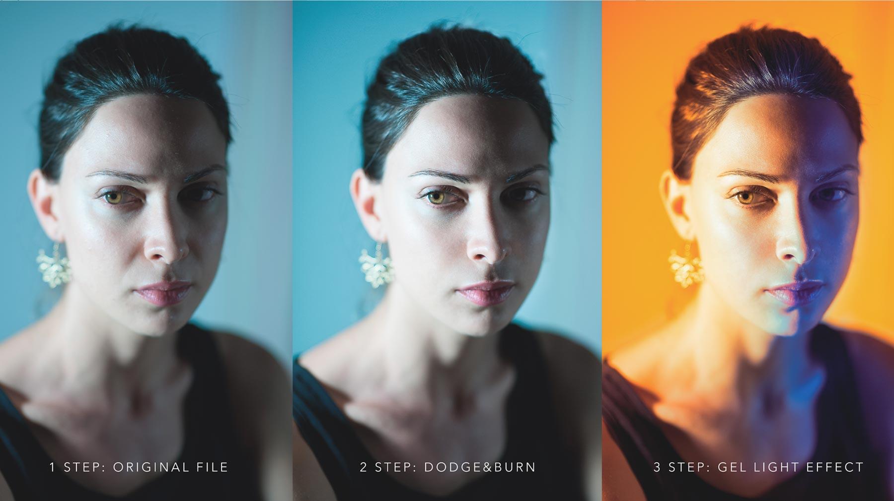 Three Complete Fine Art Portrait Workflows