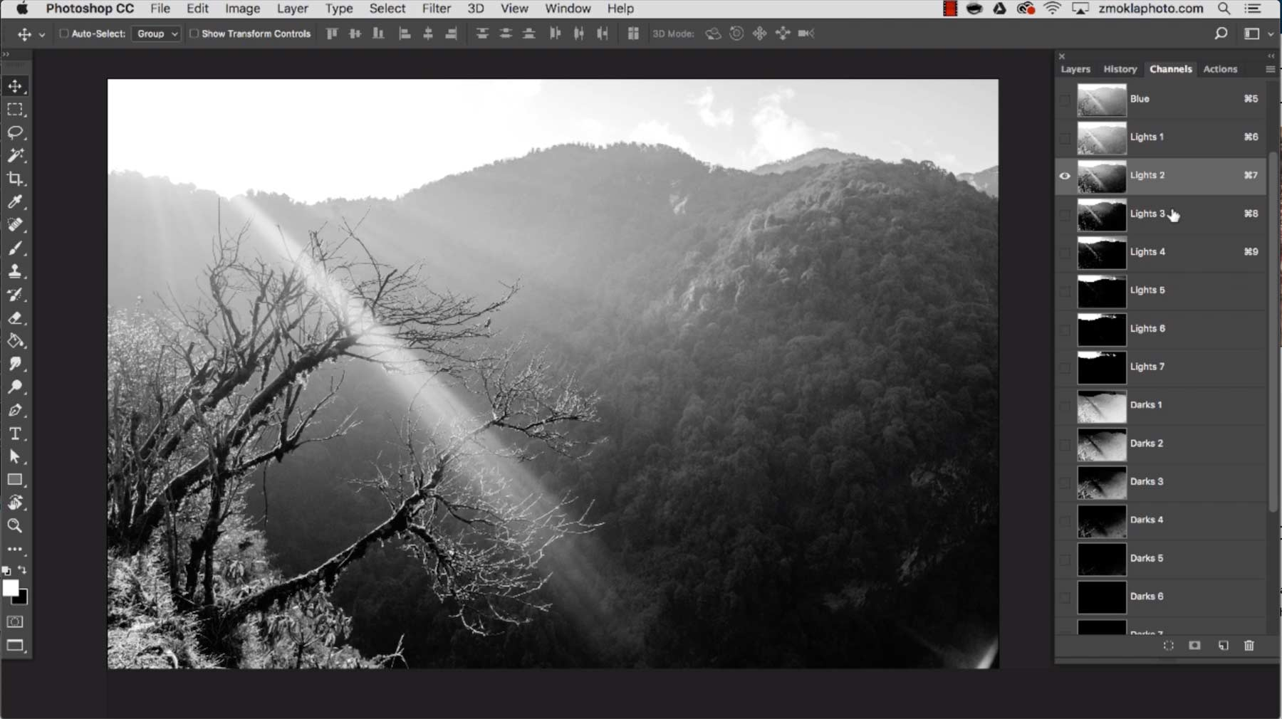 From raw to a perfect photo develop process like a pro