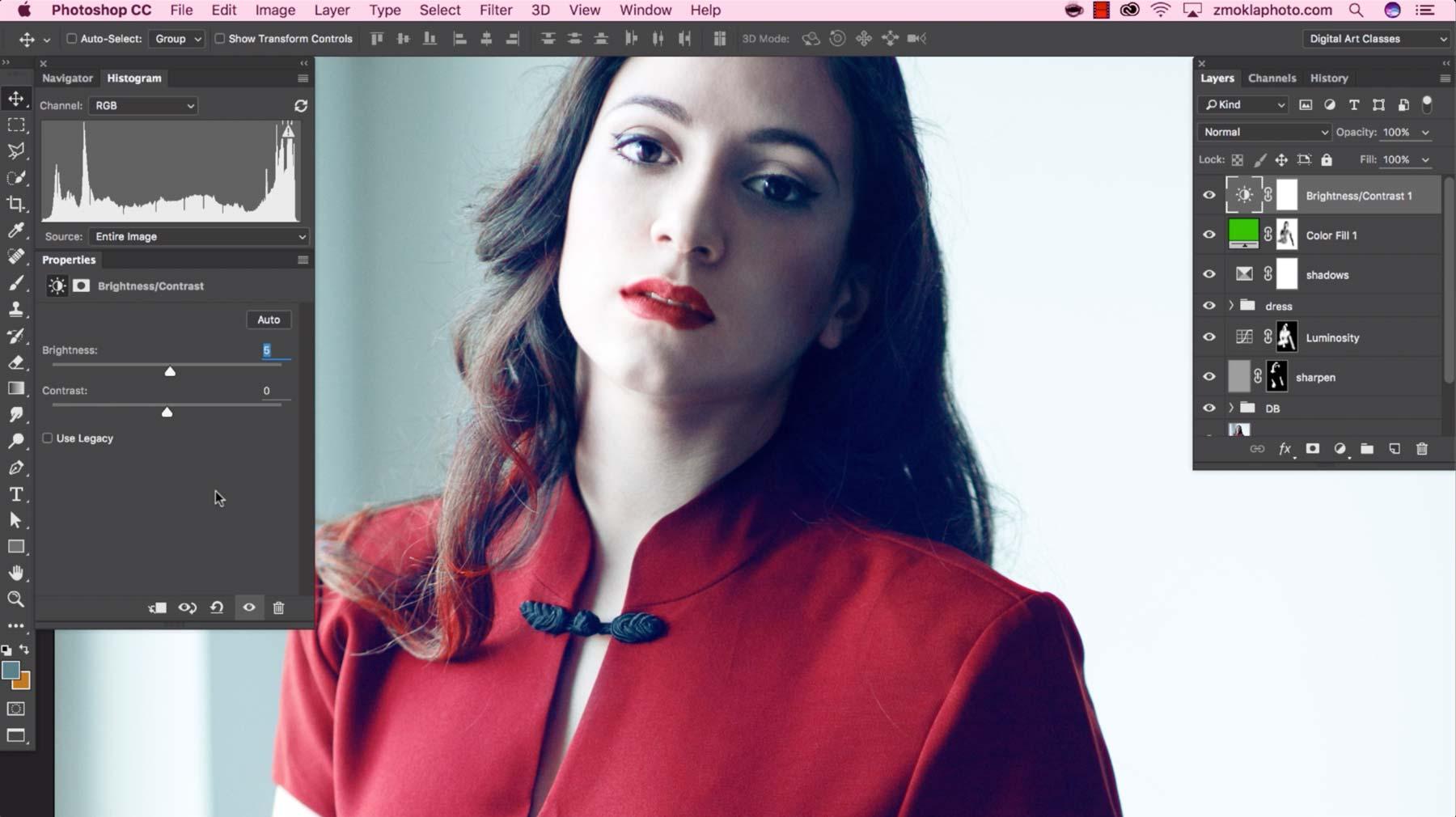 Complete Photo Edit 1: Simona