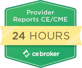 Reports to CE Broker Within 24 hours.