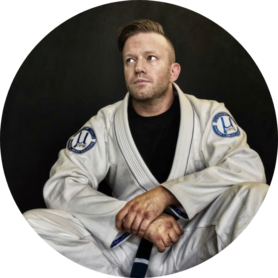 Eli Knight, First Degree BLack Belt Professor under Royce Gracie