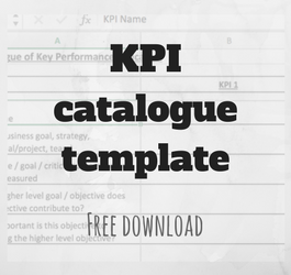 KPI Catalogue Template