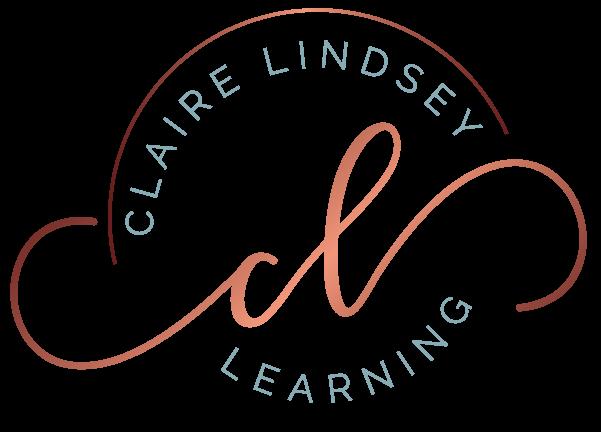 logo for clairelindseylearning
