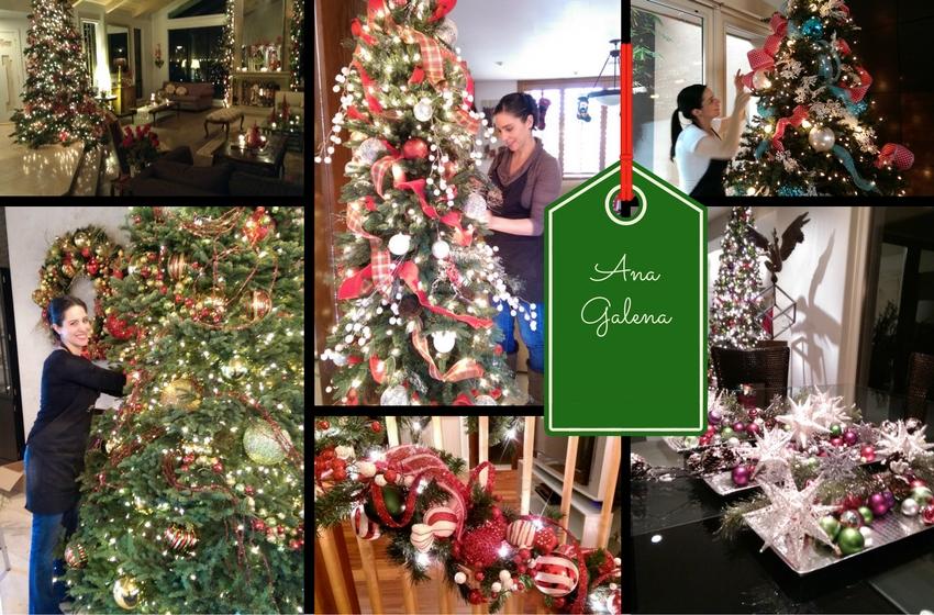 Decorando para Navidad con Ana Galena
