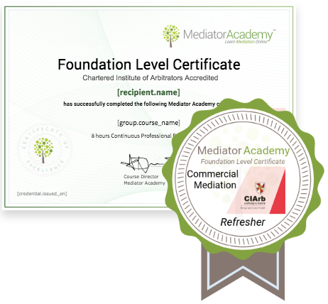 CIArb Recognised Foundation Level Certificate