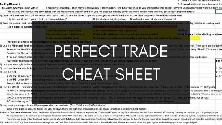 Perfect Trade Cheat Sheet + Bonuses