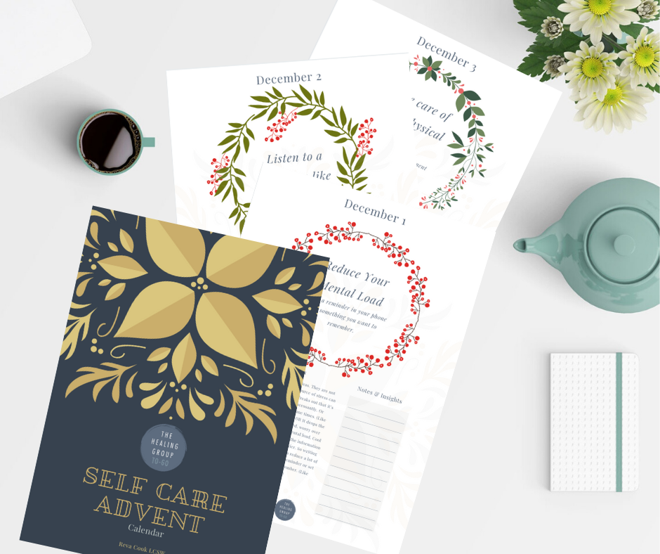 Includes 25 Quick Self Care Activities to keep you energized this season!