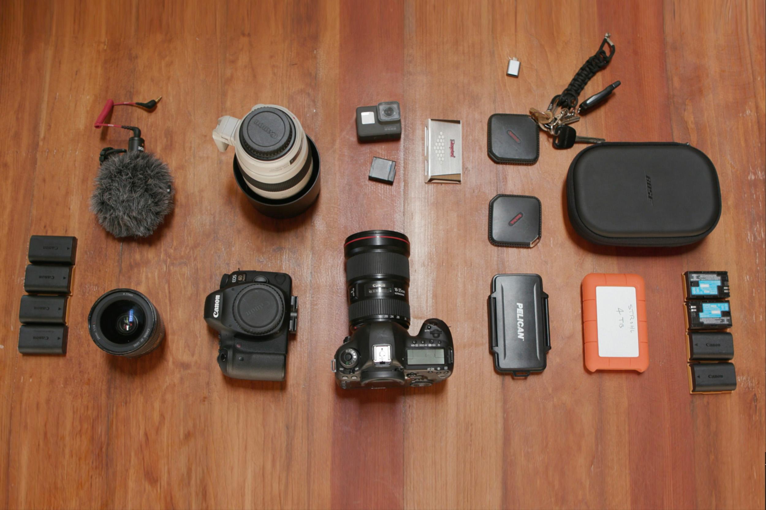 2. Gear: Alex's Travel Kit