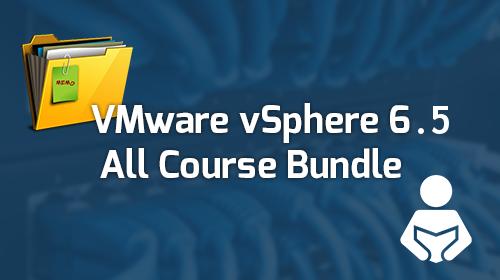 VMware vSphere 6.5 - All Course Bundle